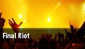 Final Riot Cleveland tickets