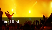 Final Riot Memphis tickets