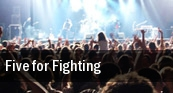 Five for Fighting Portland tickets