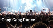 Gang Gang Dance Brighton Music Hall tickets