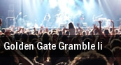 Golden Gate Gramble II San Francisco tickets