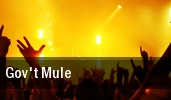 Gov't Mule Bergen Performing Arts Center tickets