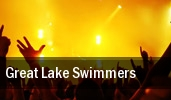 Great Lake Swimmers Bowery Ballroom tickets