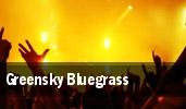 Greensky Bluegrass Montbleu tickets