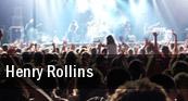 Henry Rollins Manship Theatre tickets