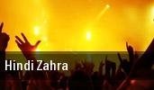 Hindi Zahra Jazz Cafe tickets