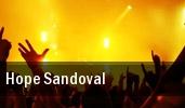 Hope Sandoval Botanique tickets