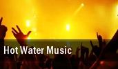 Hot Water Music The Beacham tickets