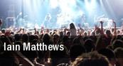 Iain Matthews Hoboken tickets