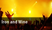 Iron and Wine Napa tickets