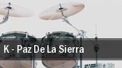 K - Paz De La Sierra tickets