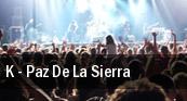 K - Paz De La Sierra San Diego tickets