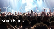 Krum Bums Buffalo tickets