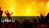 Lykke Li Metropolis tickets