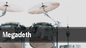 Megadeth iTHINK Financial Amphitheatre tickets