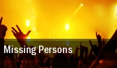 Missing Persons New York tickets