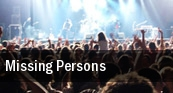 Missing Persons Seattle tickets