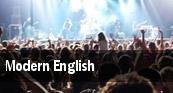 Modern English Los Angeles tickets