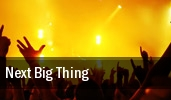Next Big Thing Washington tickets