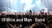 Of Mice and Men - Band Memphis tickets