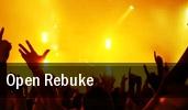 Open Rebuke Showbox SoDo tickets