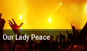 Our Lady Peace Bowery Ballroom tickets