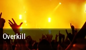 Overkill San Francisco tickets