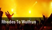 Rhodes To Wulfrun Wolverhampton tickets