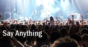 Say Anything Providence tickets