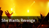She Wants Revenge Paramount Theatre tickets