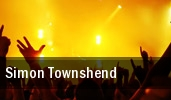 Simon Townshend San Francisco tickets