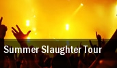 Summer Slaughter Tour The Rave tickets
