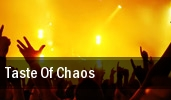 Taste Of Chaos Fillmore Auditorium tickets