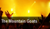 The Mountain Goats Club Congress tickets