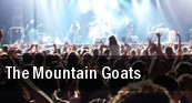 The Mountain Goats Merkin Concert Hall tickets