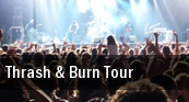 Thrash & Burn Tour Worcester Palladium tickets