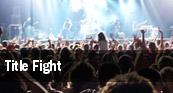 Title Fight Denver tickets