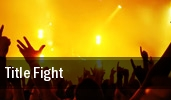 Title Fight Norfolk tickets