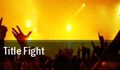 Title Fight Norfolk tickets