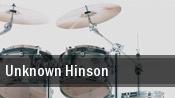 Unknown Hinson tickets