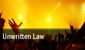 Unwritten Law Knickerbockers tickets