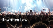 Unwritten Law Oceanport tickets