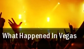 What Happened In Vegas tickets