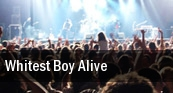 Whitest Boy Alive Brooklyn tickets