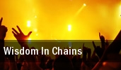 Wisdom In Chains Philadelphia tickets