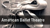 American Ballet Theatre Metropolitan Opera at Lincoln Center tickets
