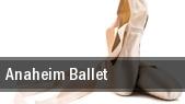 Anaheim Ballet tickets