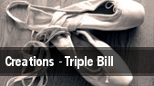Creations - Triple Bill tickets