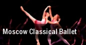 Moscow Classical Ballet Comerica Theatre tickets