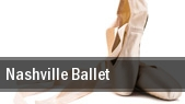 Nashville Ballet Tennessee Performing Arts Center tickets